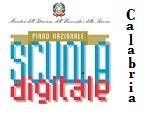 logo piano nazionale scuola digitale Calabria